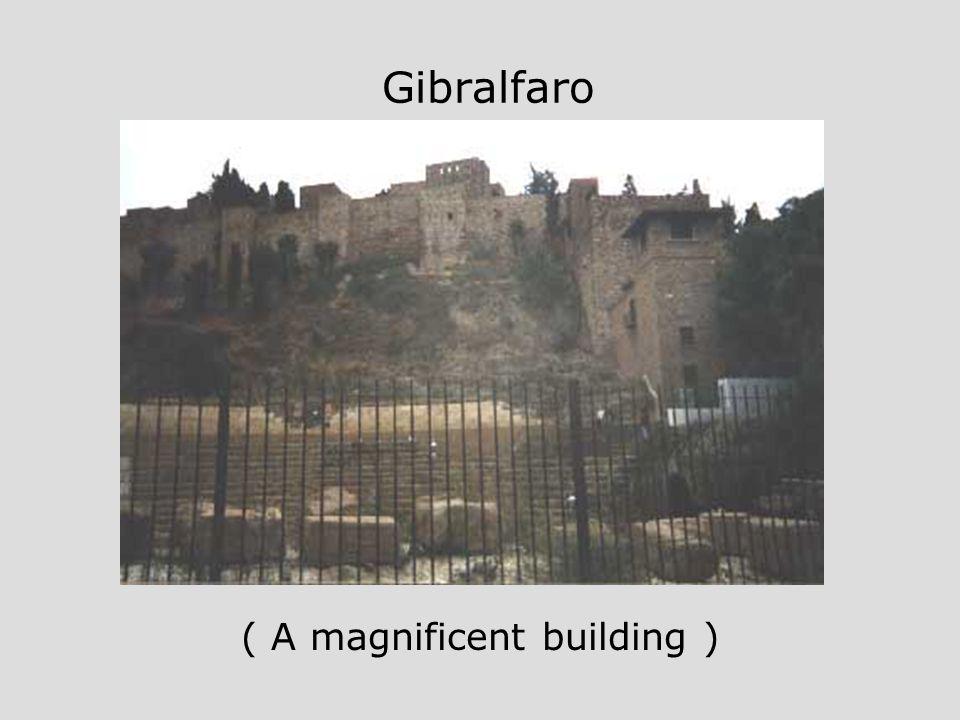 Gibralfaro ( A magnificent building )