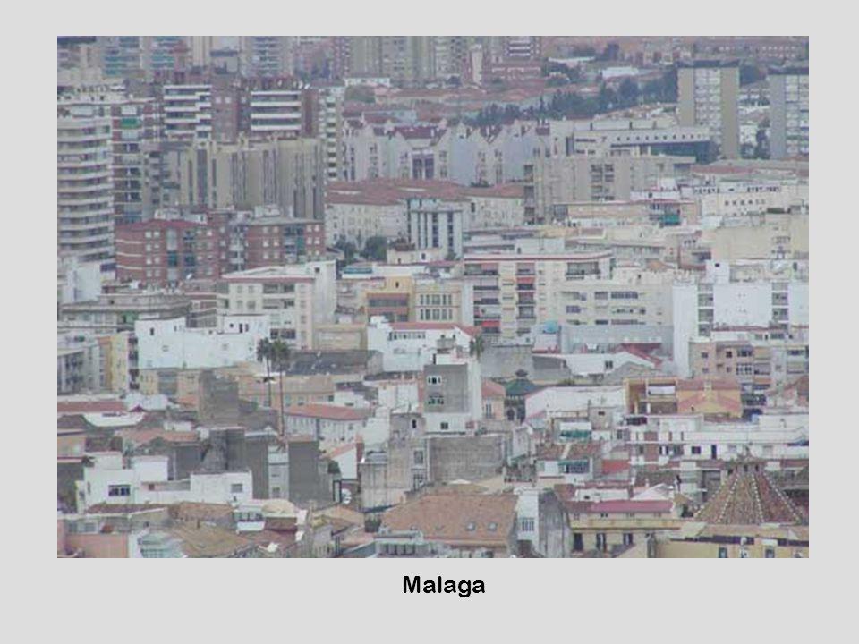 När bild stad Malaga