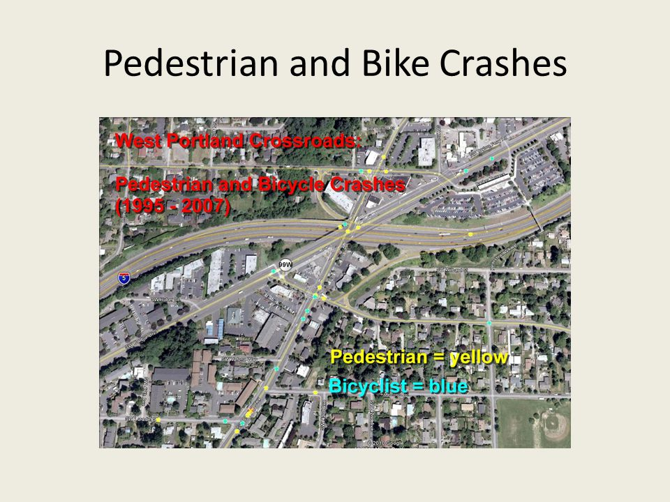 Pedestrian and Bike Crashes