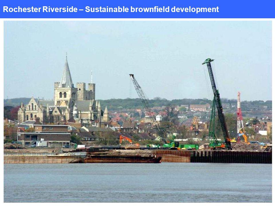 Rochester Riverside – Sustainable brownfield development