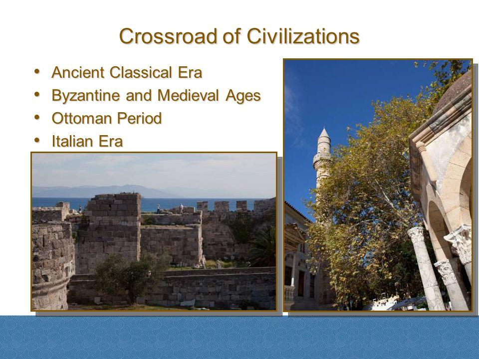Ancient Classical Era Ancient Classical Era Byzantine and Medieval Ages Byzantine and Medieval Ages Ottoman Period Ottoman Period Italian Era Italian