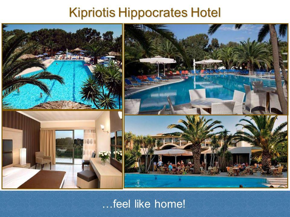 Kipriotis Hippocrates Hotel …feel like home!