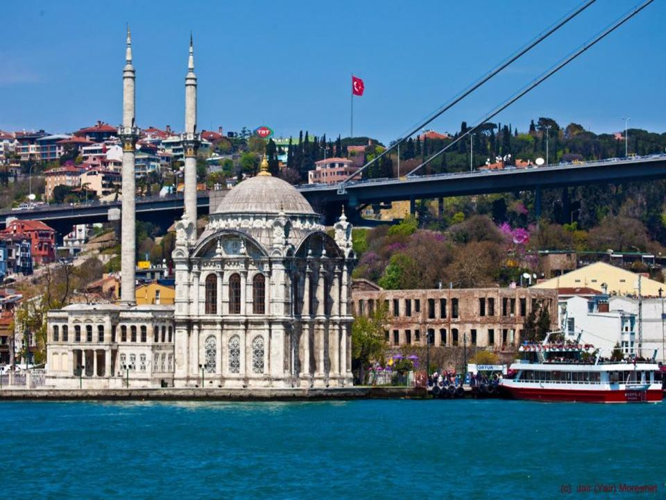 No visit to Istanbul / Constantinople is complete without a cruise along the Bosphorus up to the Black Sea, passing the city, suburbs and towns, and then picturesque fishing villages.