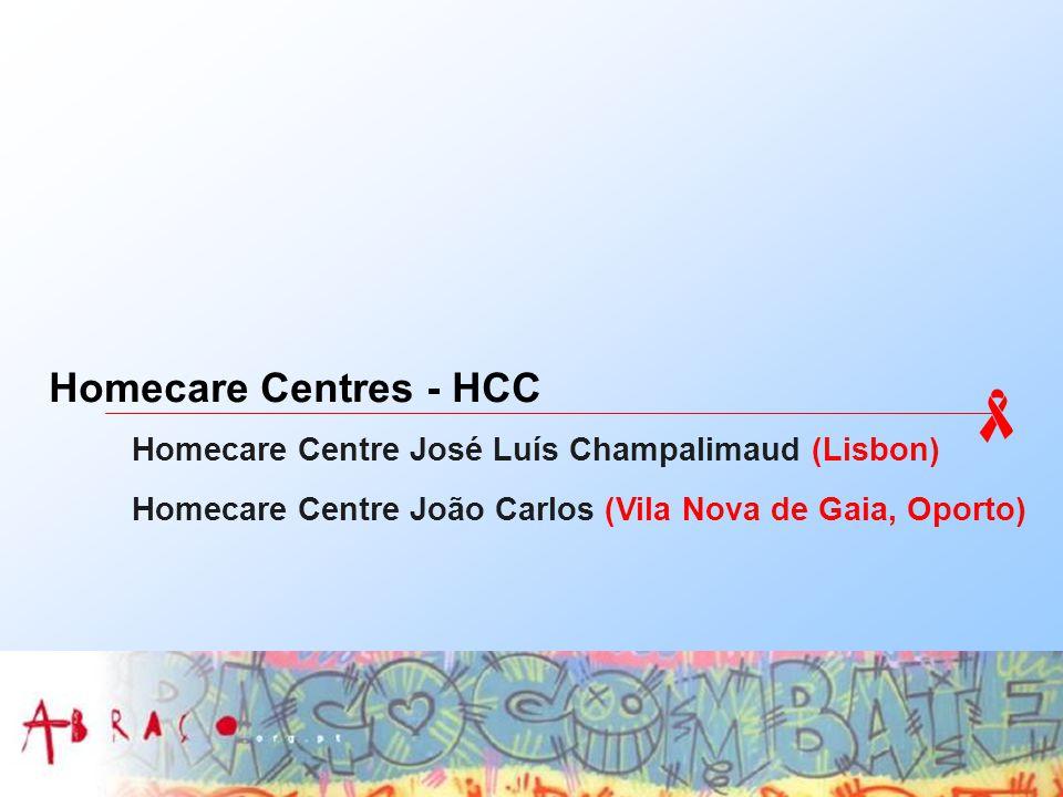 Homecare Centres - HCC Homecare Centre José Luís Champalimaud (Lisbon) Homecare Centre João Carlos (Vila Nova de Gaia, Oporto)