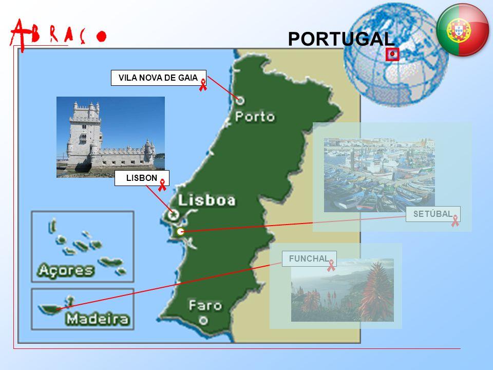 SETÚBAL FUNCHAL VILA NOVA DE GAIA LISBON PORTUGAL