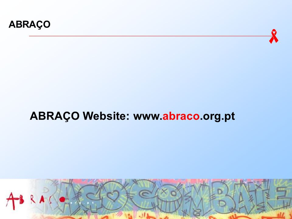 ABRAÇO ABRAÇO Website: www.abraco.org.pt