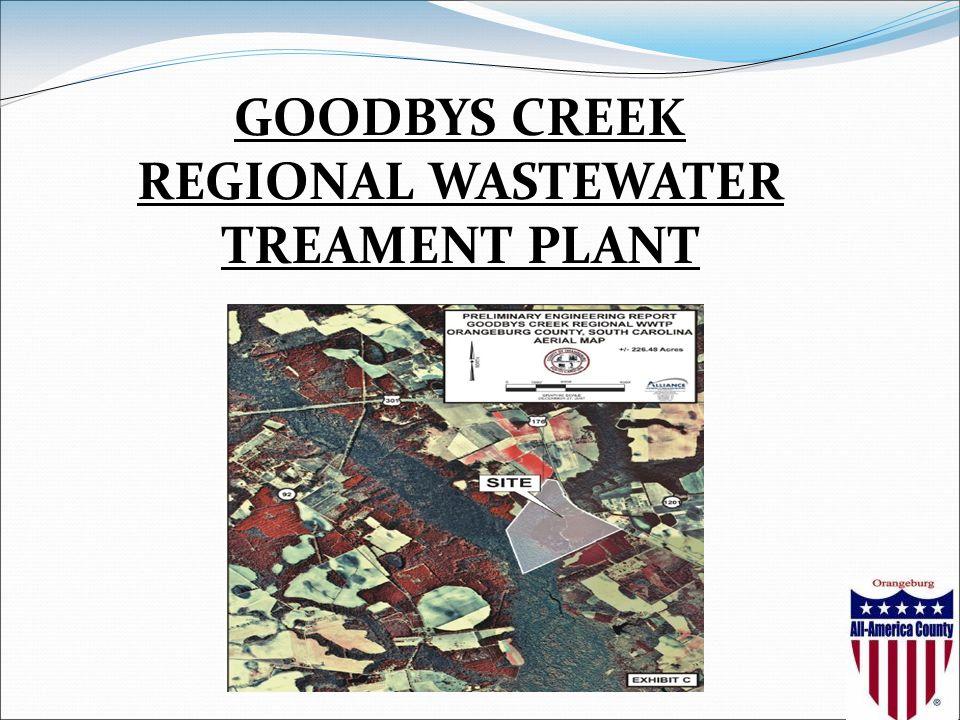 GOODBYS CREEK REGIONAL WASTEWATER TREAMENT PLANT
