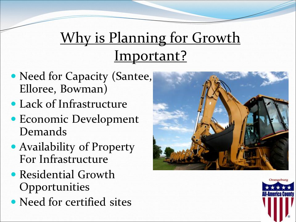 Why is Planning for Growth Important.