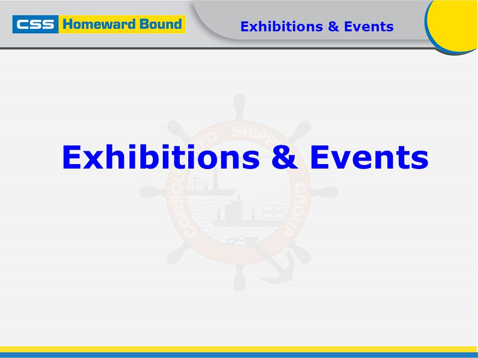 Exhibitions & Events