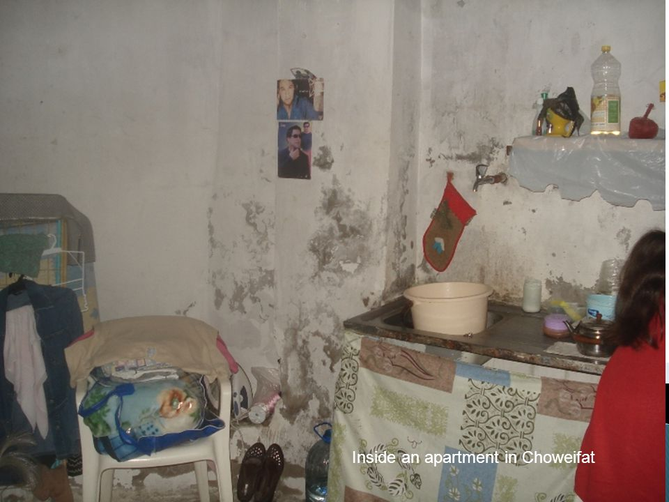 Inside an apartment in Choweifat