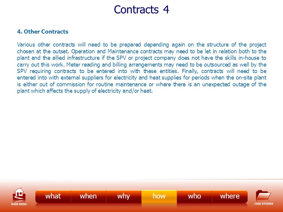 Contracts 4 4.
