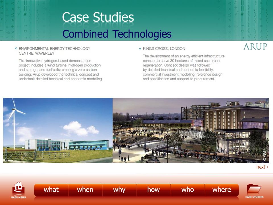 CS – Combined Tech 1 whatwhenwhyhowwhowhere next Combined Technologies