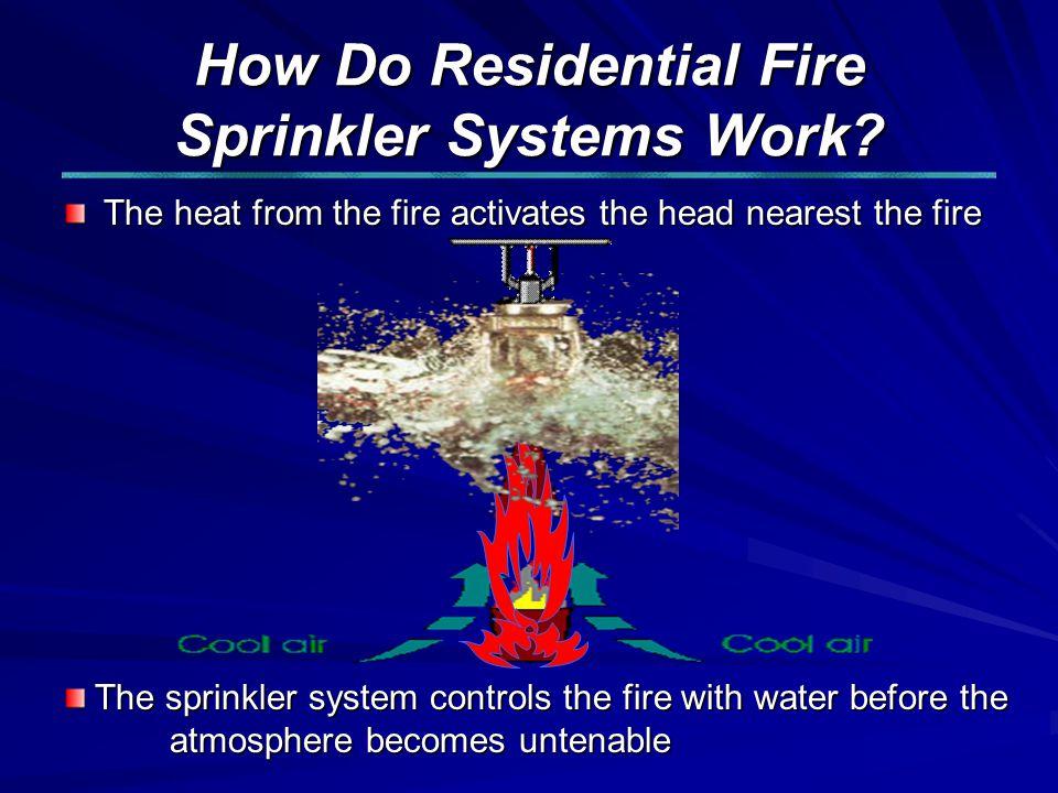 How Do Residential Fire Sprinkler Systems Work.