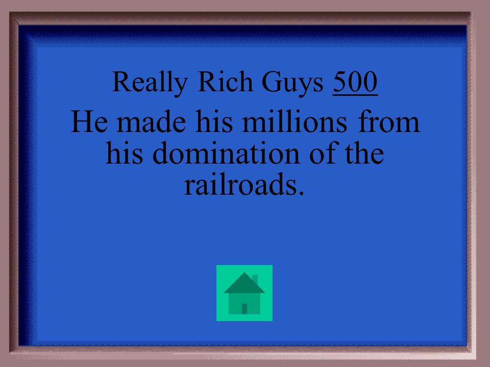 Really Rich Guys 400 Bill Gates
