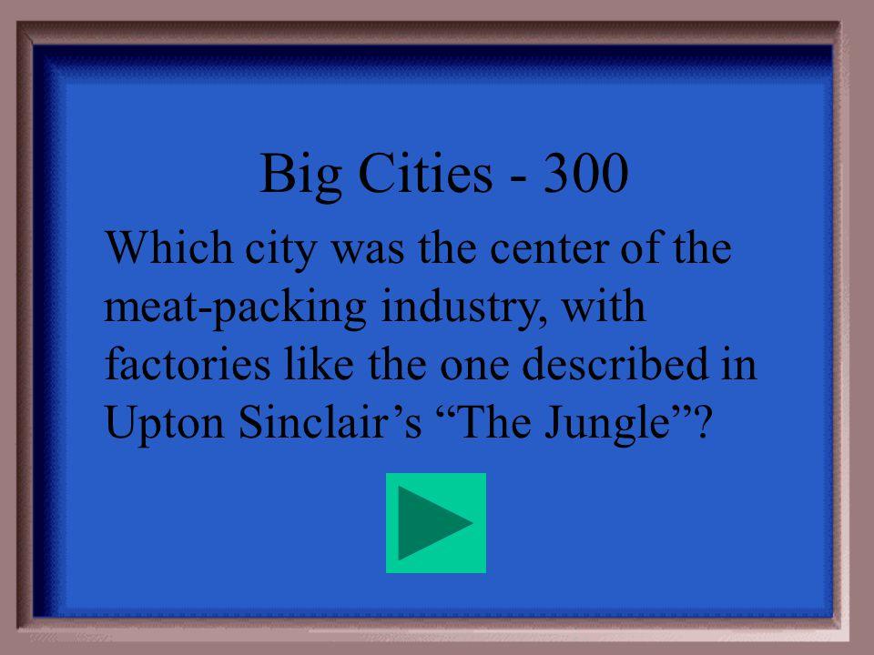 Big City - 200 Detroit