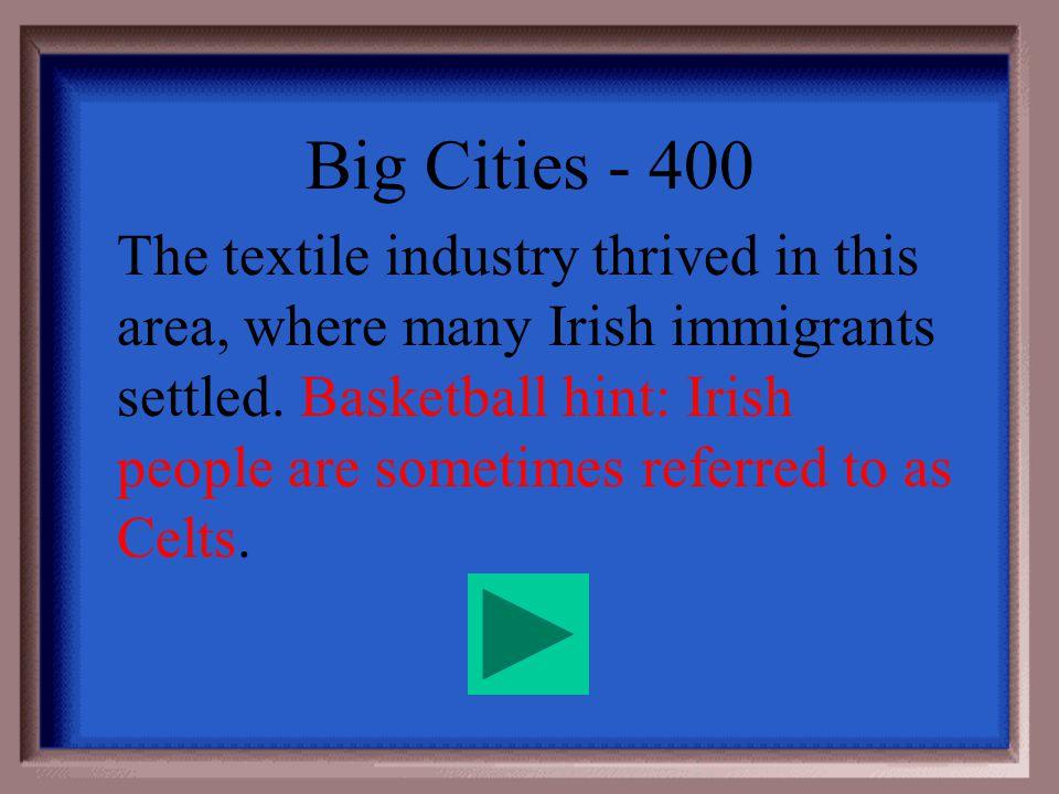 Big Cities - 300 Chicago