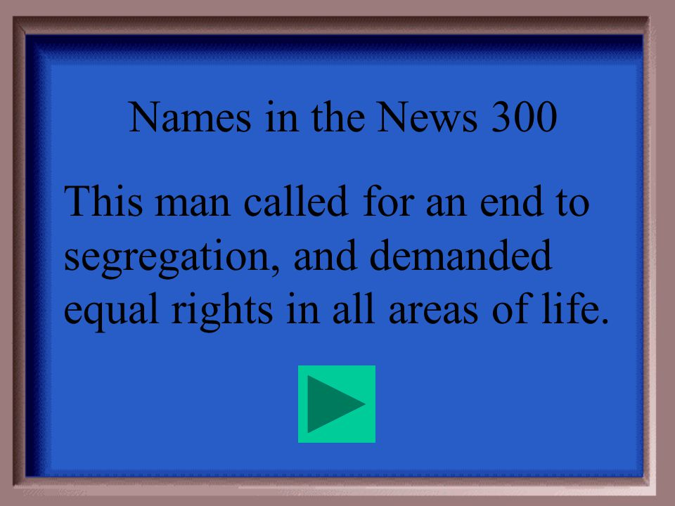 Names in the News - 200 Booker T. Washington