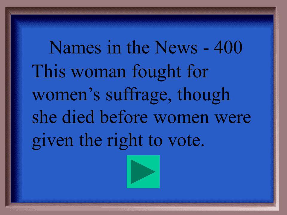 Names in the News - 300 W.E.B. Dubois