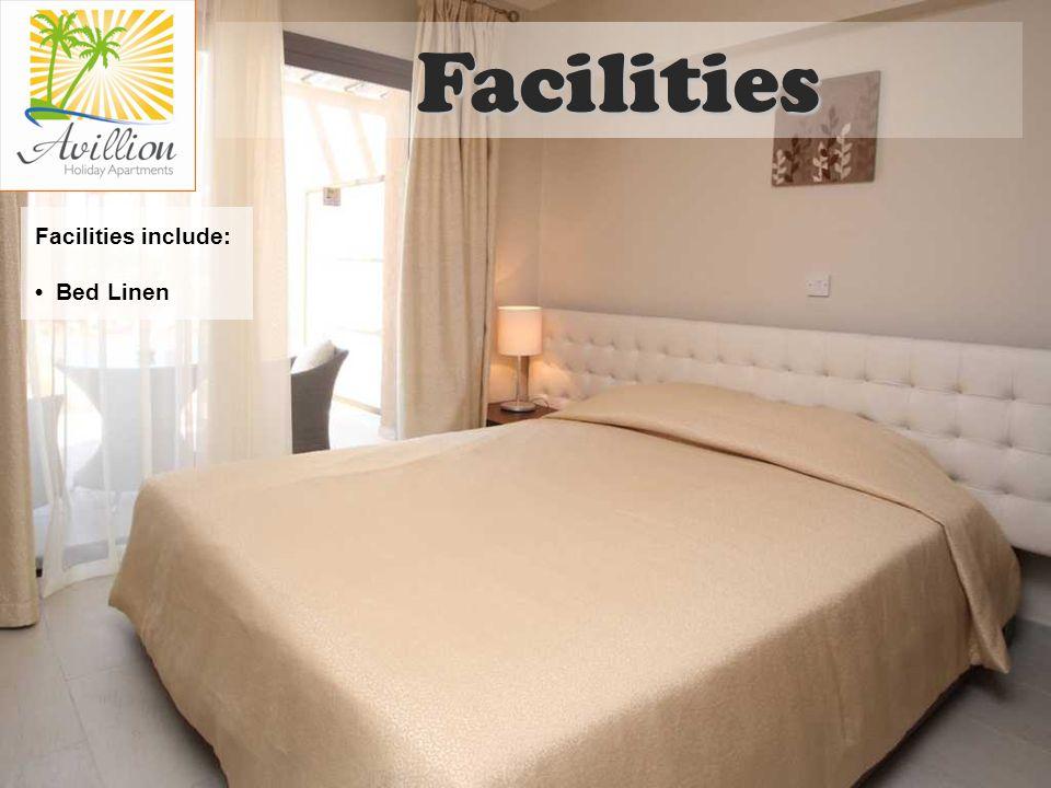 Facilities include: Bed Linen Facilities