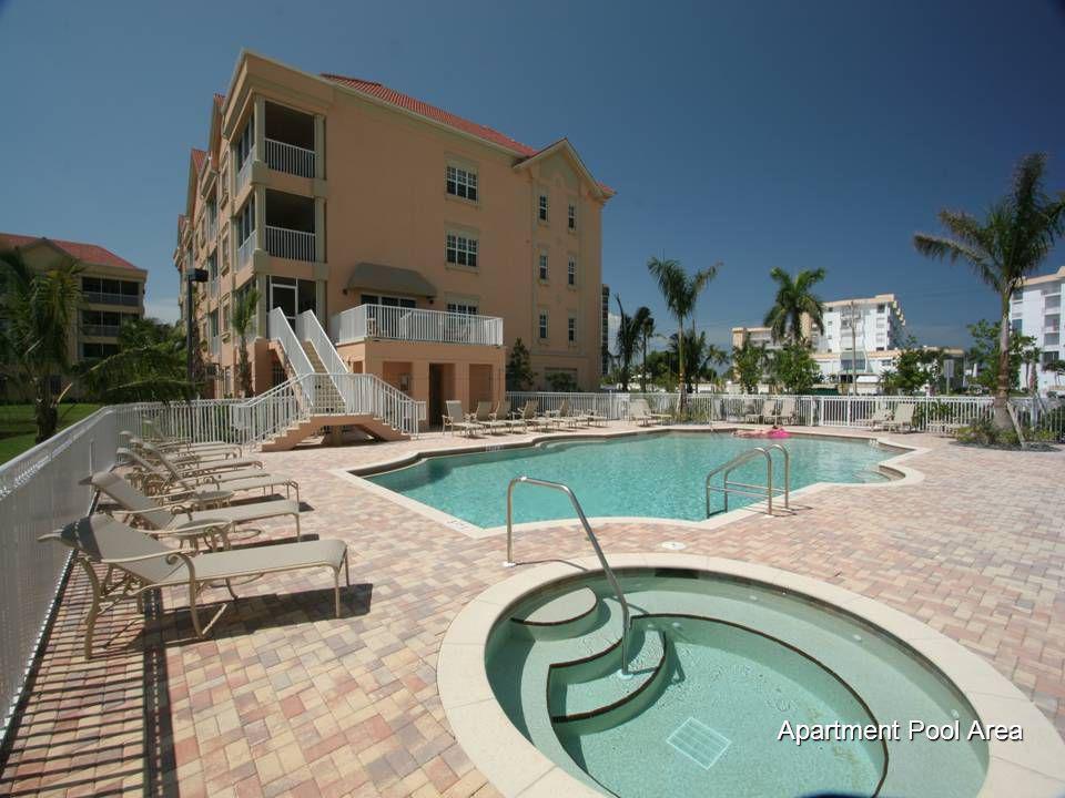 Apartment Pool Area