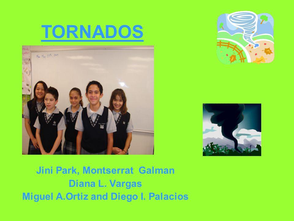 Jini Park, Montserrat Galman Diana L. Vargas Miguel A.Ortiz and Diego I. Palacios TORNADOS