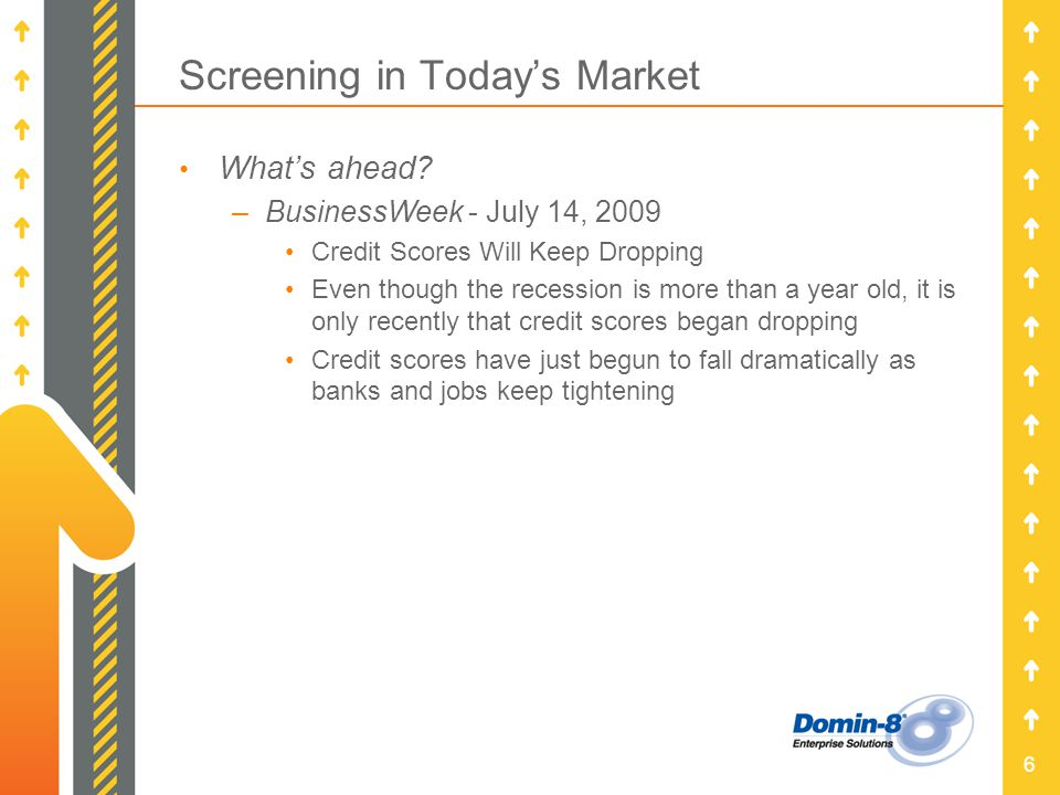 6 Screening in Todays Market Whats ahead.