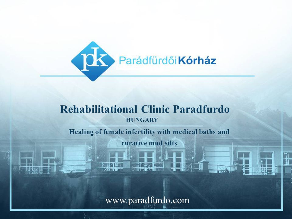 The Parádfürdő Rehabilitation Hospital is one of the best-known rehabilitation hospitals in Hungary.