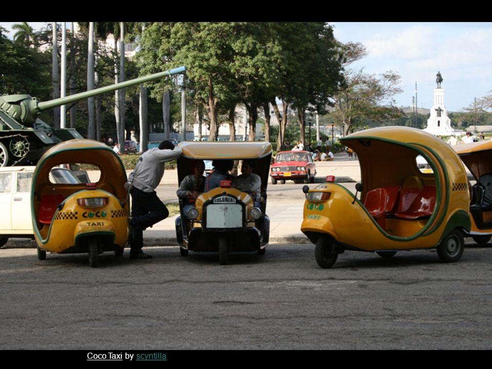 Coco Taxi by scyntillascyntilla