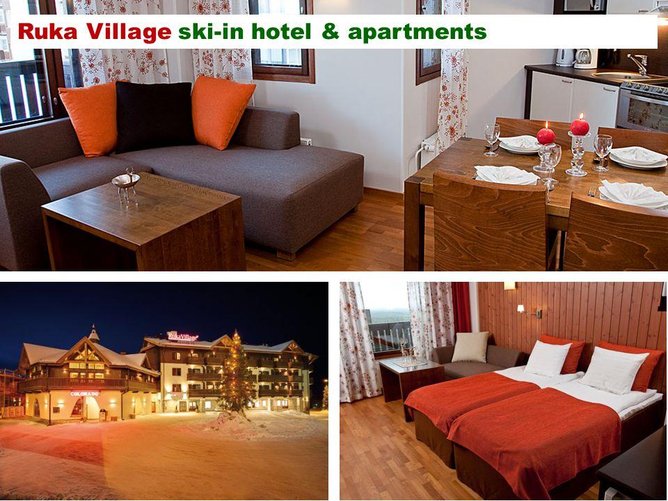 Ruka Village ski-in hotel & apartments