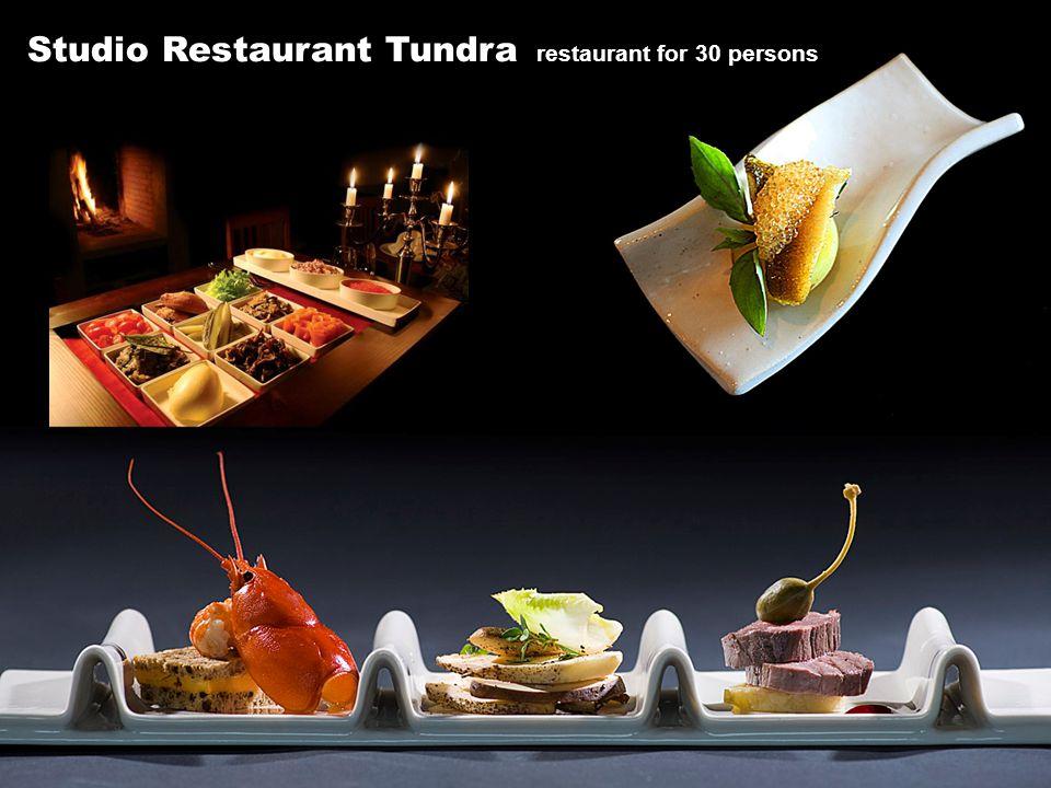 Studio Restaurant Tundra restaurant for 30 persons