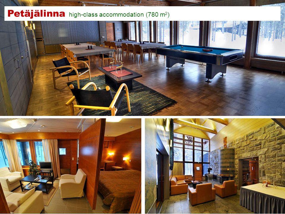 Petäjälinna high-class accommodation (780 m 2 )