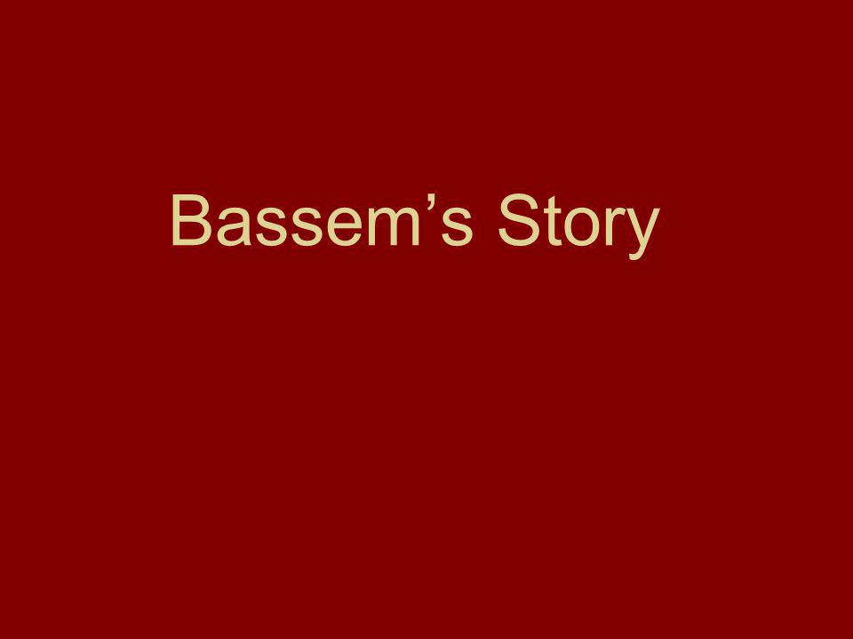 Bassem Khoury is an architect who has lived and worked in this area since 1980.