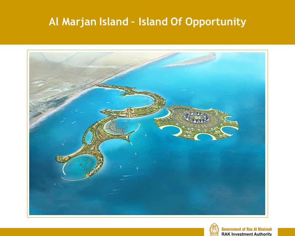 Al Marjan Island – Island Of Opportunity