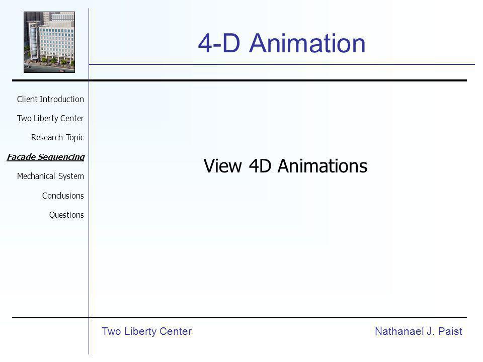 4-D Animation Nathanael J.