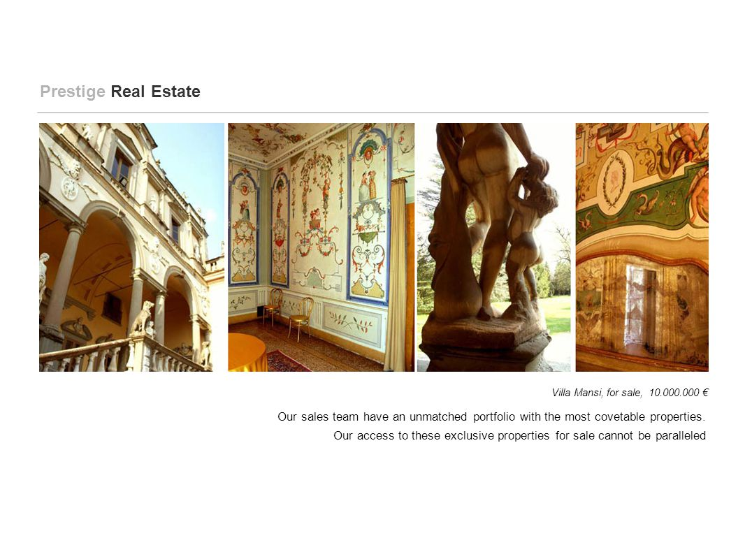 The rentals team is able to source any style of property, from opulent...
