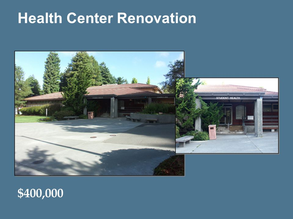 13 Health Center Renovation $400,000