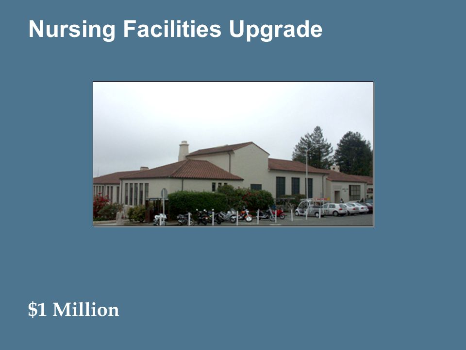16 Nursing Facilities Upgrade $1 Million