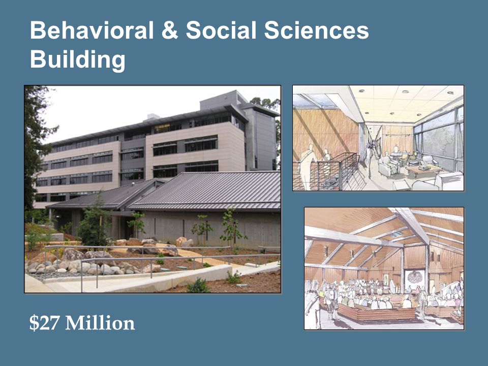 9 Behavioral & Social Sciences Building $27 Million