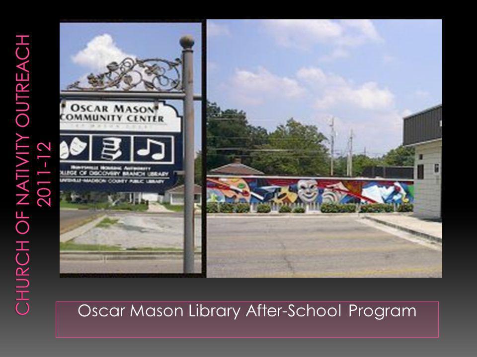 Oscar Mason Library After-School Program