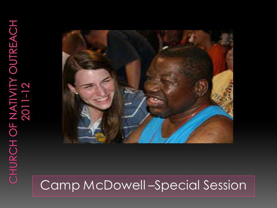 Camp McDowell –Special Session