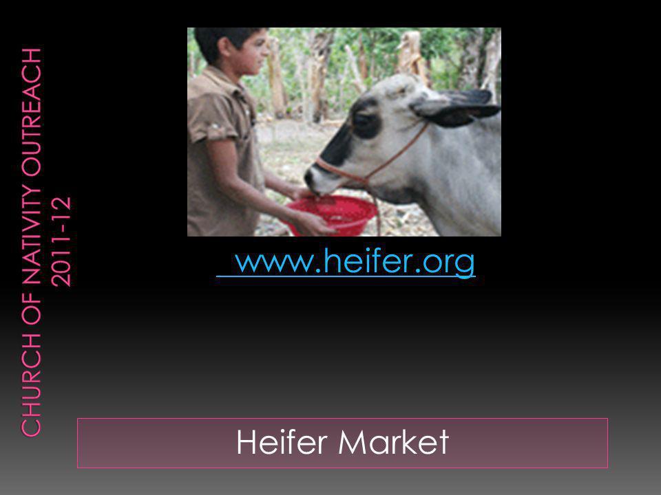 Heifer Market www.heifer.org