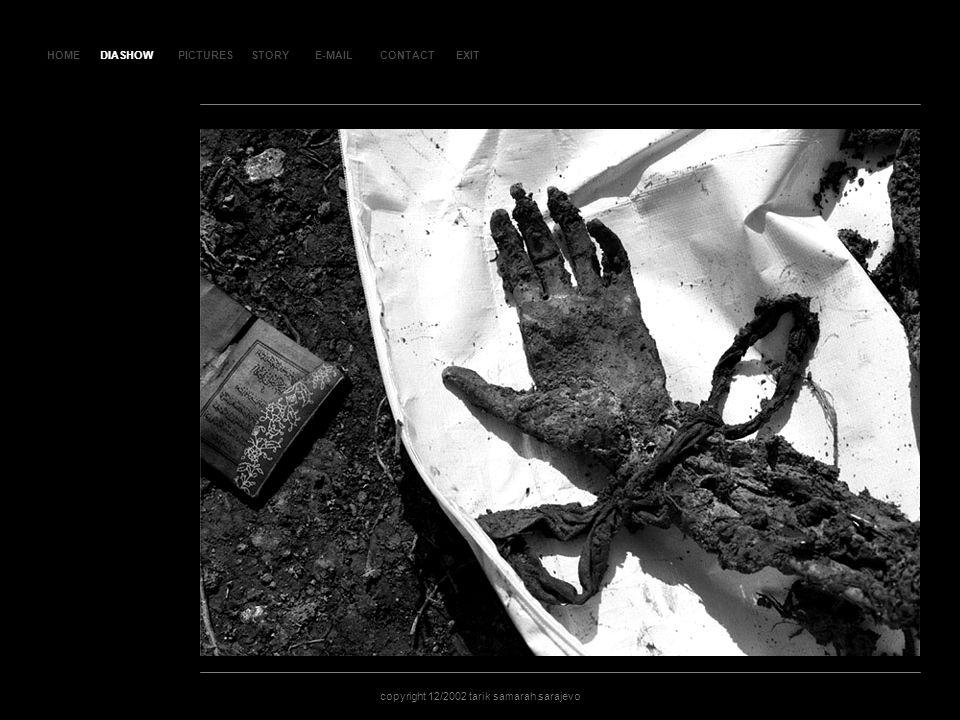 HOMEDIASHOWPICTURESE-MAILCONTACTEXIT copyright 12/2002 tarik samarah sarajevo STORY SLAJD 28SLAJD 28 DIASHOW
