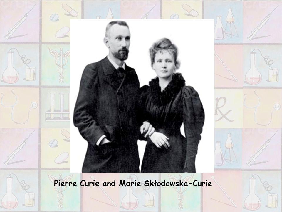 Pierre Curie and Marie Skłodowska-Curie
