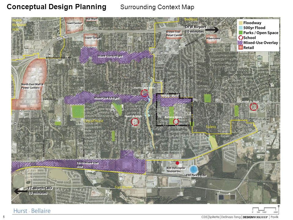 Conceptual Design Planning Surrounding Context Map 5