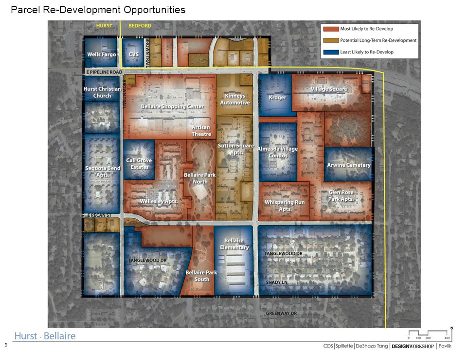 Parcel Re-Development Opportunities 9