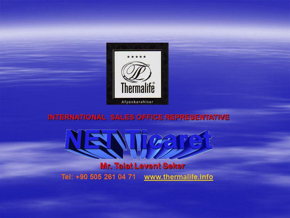 INTERNATIONAL SALES OFFICE REPRESENTATIVE Mr.
