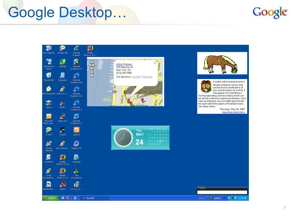 8 Google Desktop…