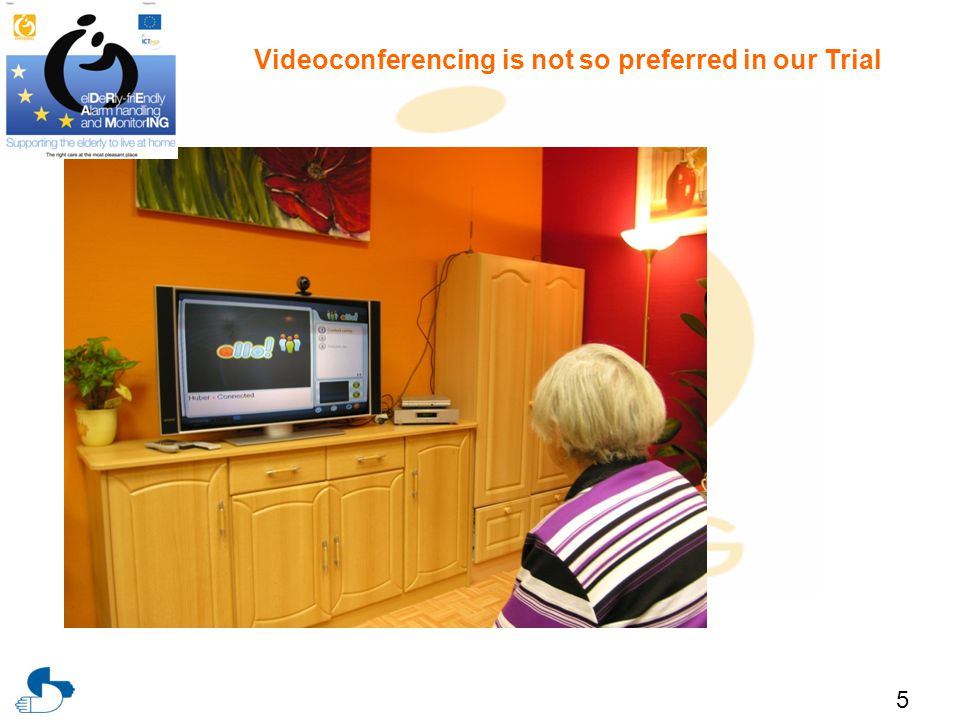 5 Videoconferencing is not so preferred in our Trial