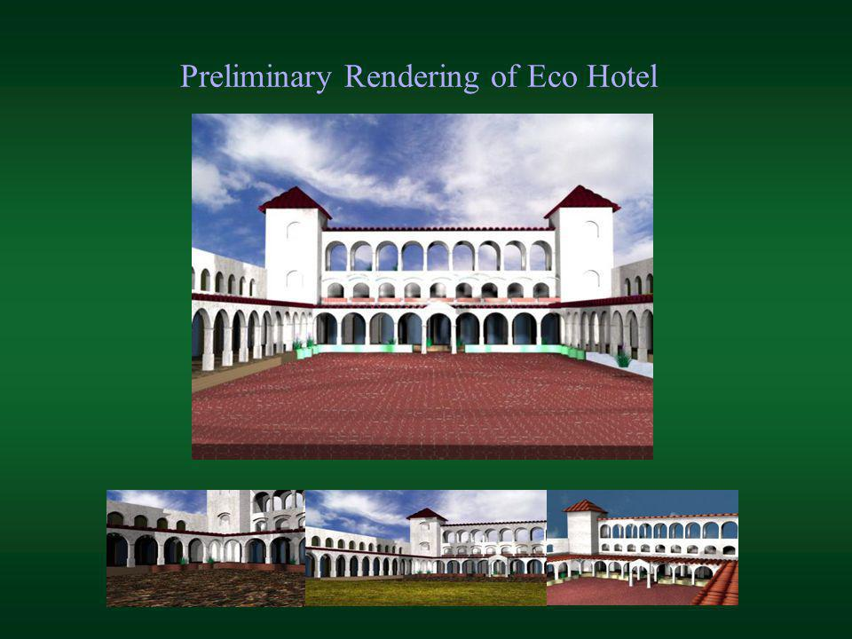 Preliminary Rendering of Eco Hotel