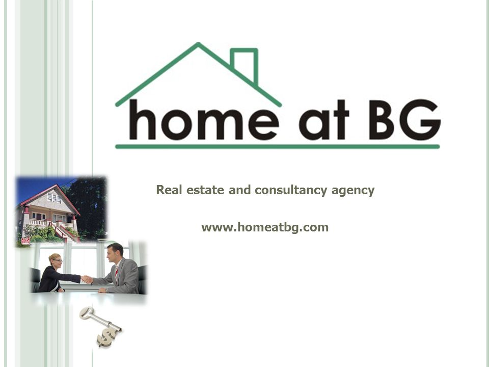 Real estate and consultancy agency www.homeatbg.com